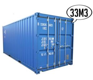 Location de conteneur 33 m3