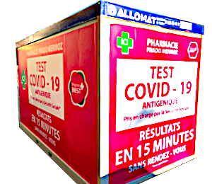 Module spécial test COVID 19