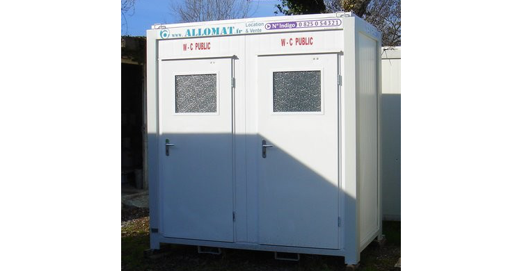 sanitaire allomat raccordable double