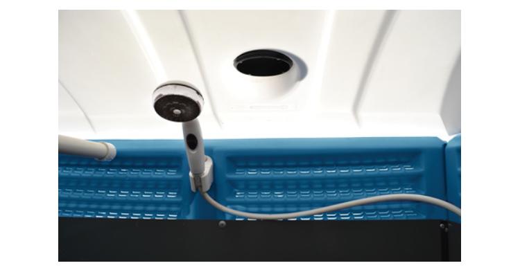 sanidouche douche connectable mobile eau chaude gaz allomat. Black Bedroom Furniture Sets. Home Design Ideas