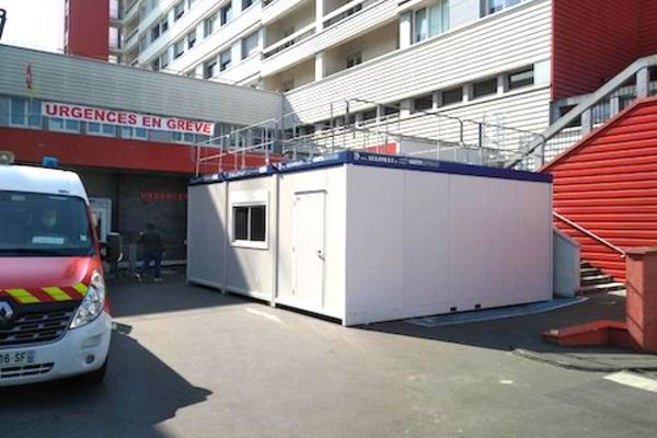 Modules bungalow pour un hôpital